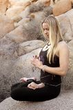 Meditation Woman Royalty Free Stock Images
