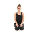 Meditation yoga posture Royalty Free Stock Images