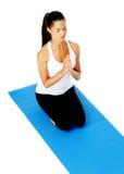 Meditation zen prayer Stock Photo