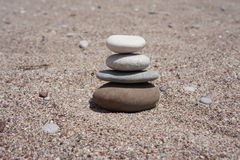 Meditation zen stones Stock Photo