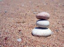 Meditation zen stones Royalty Free Stock Photography