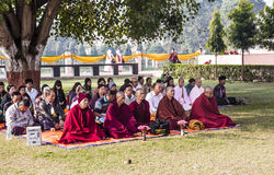 Meditationgrupp Royaltyfria Bilder