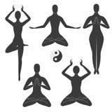 Meditationhaltungen Lizenzfreies Stockbild