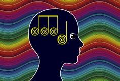 Meditationmusik Arkivfoto