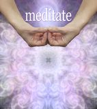Meditations-Anschlagbrett-Muster-Hintergrund lizenzfreies stockbild