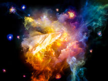 The Meditations on Dream Space Royalty Free Stock Photography