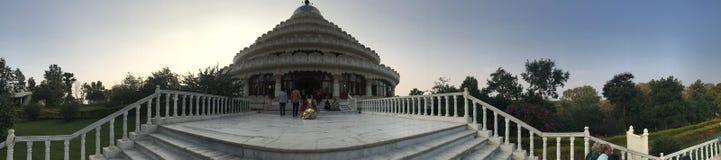 Meditations-Mitte Sri Sri, die Lebenskunst stockbilder