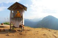 MeditationSri Lanka berg Ella arkivfoton