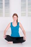 meditationtid Fotografering för Bildbyråer