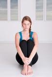 meditationtid Arkivbild