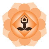meditationyoga Arkivfoto
