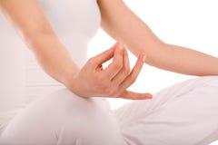 meditationyoga Royaltyfria Foton