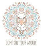 Meditative Animals series. Stock Images