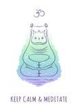 Meditative Animals series 2 Royalty Free Stock Photo