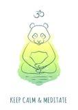 Meditative Animals series 2 Stock Image