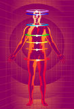 Meditative Technology Royalty Free Illustration