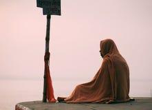 Meditators ascéticos Fotografia de Stock Royalty Free
