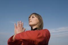 Meditazione Fotografie Stock