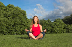 Meditazione Immagini Stock