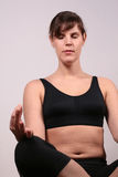Meditazione calmante Fotografia Stock