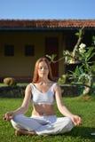 Meditazione del giardino Immagini Stock Libere da Diritti