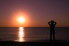 Meditazione di yoga Fotografia Stock Libera da Diritti