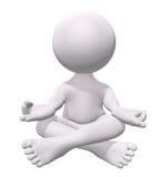 Meditazione di zen Fotografia Stock Libera da Diritti