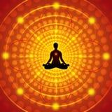 Meditazione - illustrazione di vettore Fotografia Stock