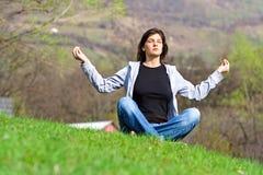 meditera Royaltyfri Bild