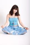 meditera för hippie Arkivfoton