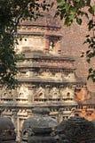 Meditera för Nalanda Buddha royaltyfri fotografi
