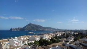 Mediteran-seaview Stockfoto