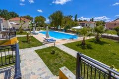 Mediteranean resort overview Royalty Free Stock Photos