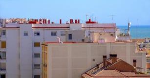 Mediteranean rooftops. Stock Image
