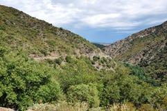 Mediteranean Spain. The road thru Spain is very beautiful Stock Image