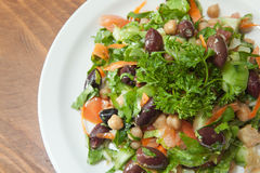 Mediteranean style salad Stock Photo