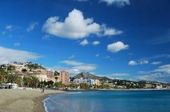 mediteranean trevligt väder arkivfoto