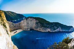 mediteraneean hav Fotografering för Bildbyråer