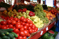 mediteranian rynku obrazy royalty free
