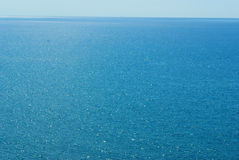 Mediteranian sea horizon Royalty Free Stock Images
