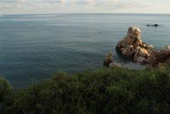 Mediteranian sea view Stock Photos