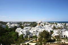 mediteranian town Arkivbilder