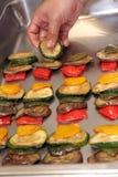 Mediteranian vegetable food Stock Image