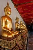 Mediterende Boedha Royalty-vrije Stock Fotografie