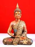 Mediterende Boedha Stock Afbeelding