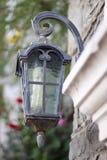 Mediterian Lamppost Chorwacja Fotografia Royalty Free