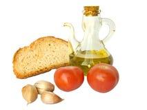 Mediterraan dieet Stock Afbeelding