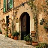 Mediterraan dorp Stock Fotografie
