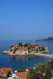 Mediterraan dorp Royalty-vrije Stock Fotografie