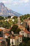 Mediterraan dorp Stock Foto